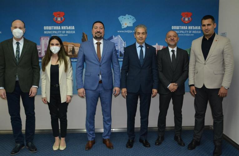 Opštinu Inđiju posetio ambasador Turske-na pomolu zajednički projekat