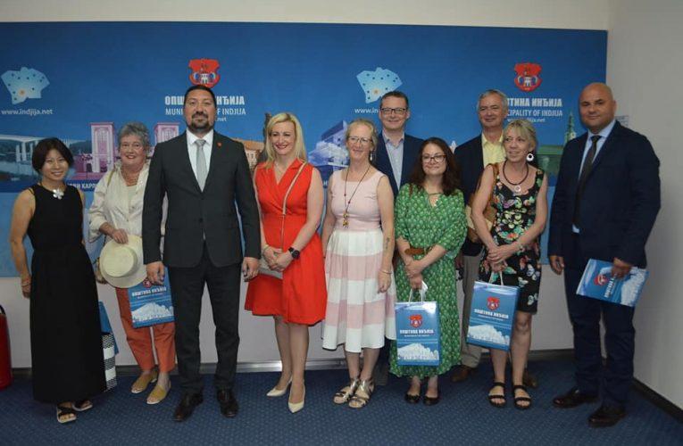 ODRŽANA PRVA ETNO KOLONIJA: Diplomatska poseta opštini Inđija