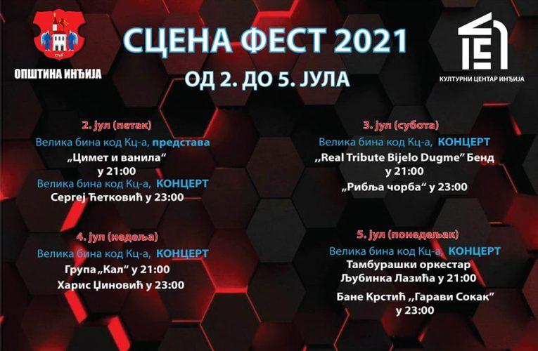 "Muzičko-scenski festival ""SCENA FEST"" od 2. do 5. jula u Inđiji (VIDEO)"
