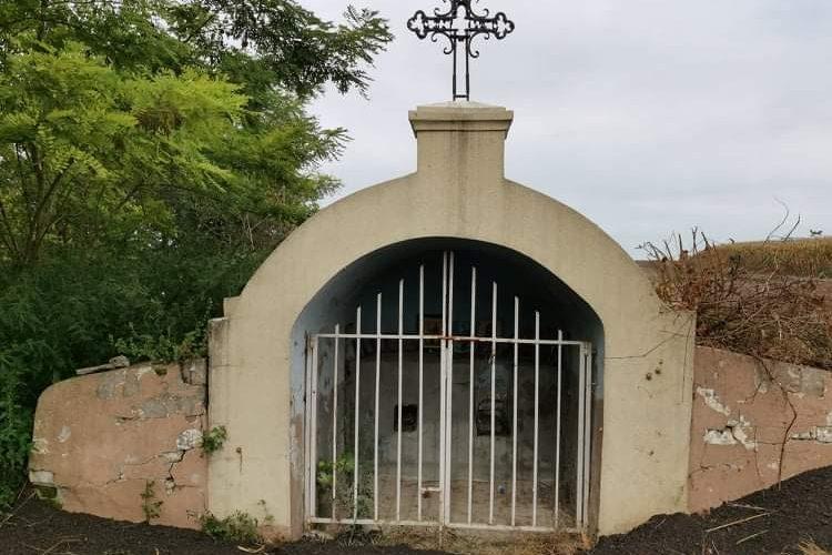 BANOVAČKA VODICA: Kapela koju su meštani izgradili u znak sećanja na staru crkvu iz 1726. godine