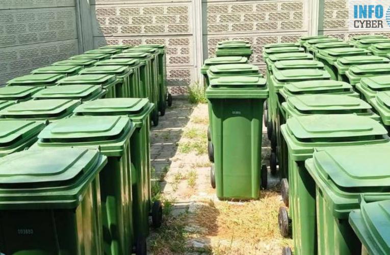 ZA UREĐENIJU PAZOVU: Nabavljeno 120 novih kontejnera i 131 kanta za otpad