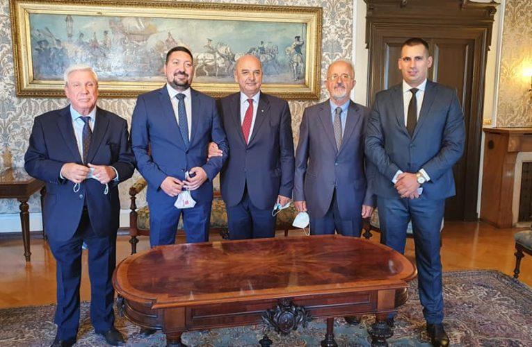 Delegacija Inđije u Trstu: Na pomolu saradnja i italijanske investicije (VIDEO)